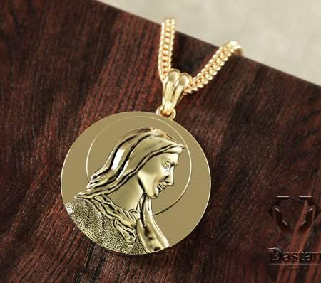 مدال گردنی مریم مقدس