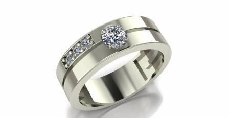 انگشتر حلقه مردانه