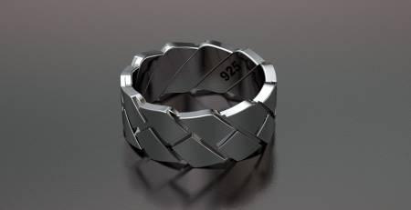 انگشتر اسپرت مردانه