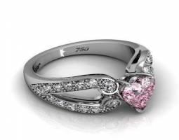 انگشتر زنانه طرح قلب