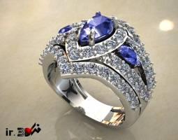 انگشتر جواهری زنانه